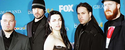 Evanescence regroup with 'American Idol' finalist